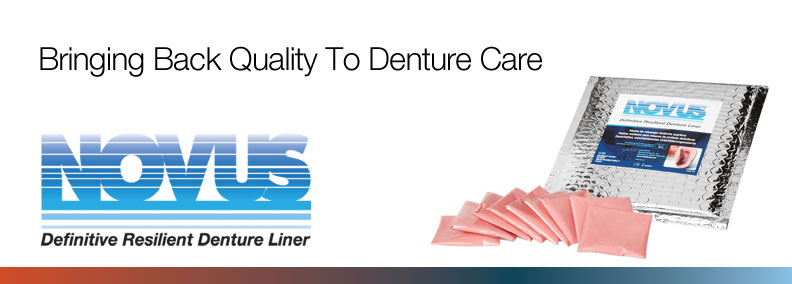 NOVUS The Permanent Soft Denture Liner